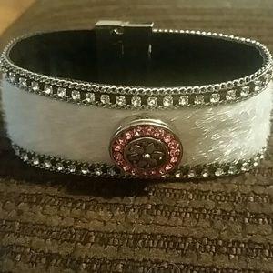 Jewelry - Horsehair Rhinestone Bracelet